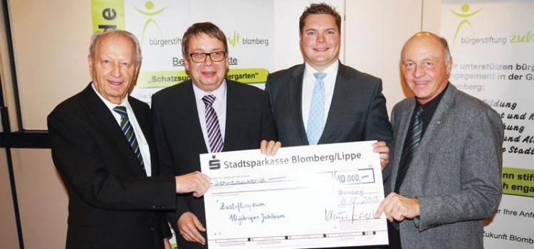 """Die """"Bürgerstiftung Zukunft Blomberg"""" im Kurzprofil"""
